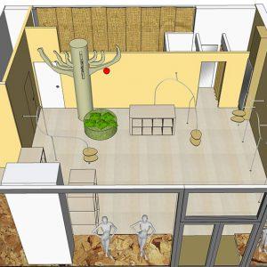 Progettazione in 3D dimostrativo - Agenzia Eventi - Lecce